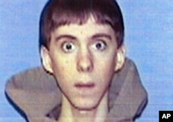 FILE - Adam Lanza, the gunman at Sandy Hook Elementary School, appears in an undated ID photo released by Western Connecticut State University in Danbury.