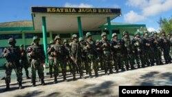 Operasi gabungan TNI-Polti mengamankan desa-desa di Nduga, Papua, pasca penembakan kelompok bersenjata awal Desember. (Foto Courtesy: Kapendam VXII Cendrawasih Papua)