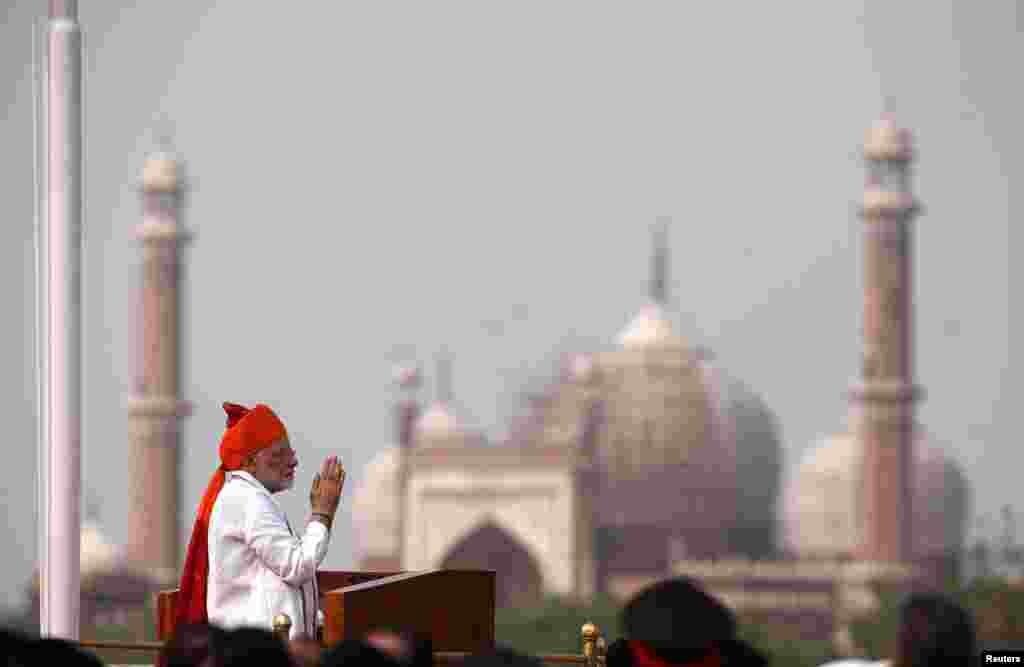 سخنرانی نارندا مودی، نخست وزیر هند در سالگرد استقلال هند