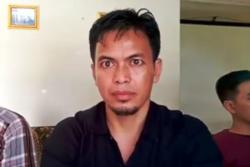 Edi Arsadad dari Panguyuban Keluarga dan Korban Talangsari Lampung. (Foto: VOA/Nurhadi Sucahyo)