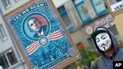 Germaniyada Amerikaga qarshi namoyishlari, 29-iyun, 2013