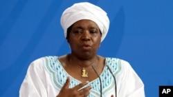 Nkosazana Dlamini-Zuma, chairperson of the African Union Commission.