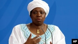 Nkosazana Dlamini-Zuma, chairwoman of the African Union Commission.