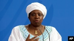 Dr. Nkosazana Dlamini-Zuma, chairwoman of the African Union Commission.