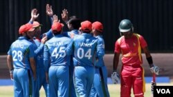Afghanistan cricket team vs Zimbabwe