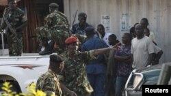 L'armée burundaise déployée à Bujumbura, Burundi (Reuters)