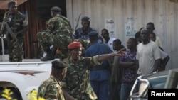 Des militaires et agents de sécurité du Burundi.