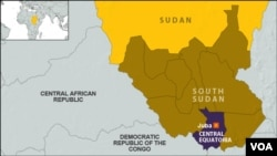 The attack happened just outside Juba on the road to Kajo-Keji, which sits on the border with Uganda.