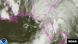 Tropical Storm Andrea, June 6, 2013.