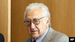 Спецпосланник ООН по Сирии Дахдар Брахими