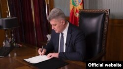 Predsjednik Skupštine Crne Gore Ivan Brajović (rtcg.me)
