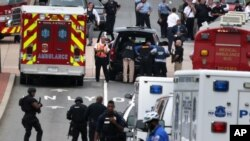 Shooting at Navy Yard in Washington