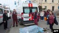 Belarusda metro parlayışı ilə əlaqədar bir necə adam nəzarət altına alınıb
