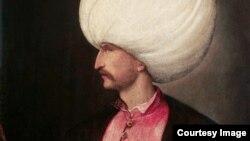 (Dari Wikipedia: Suleiman dalam sebuah foto yang berasal dari Titianc.1530)
