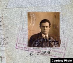 پاسپورت ارنست همینگوی- ۱۹۲۳