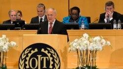 ၁၀၅ ႀကိမ္ေျမာက္ ILO အစည္းေဝး ျမန္မာကိုယ္စားလွယ္ေတြ တက္ေရာက္