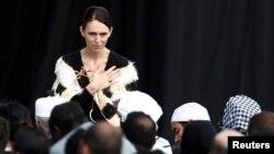 """خانم اردرن گفت طرح مبارزه با تروریزم در انترنت را زیر عنوان """"فراخوان کرایستچرچ"""" معرفی خواهد کرد"""