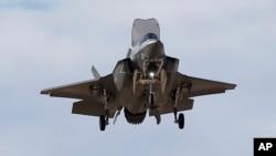미 해병대 소속 F-35B 전투기. (자료사진)