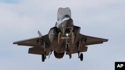 Pesawat jet tempur F-35 buatan Lockheed Martin Corp. (foto: ilustrasi).
