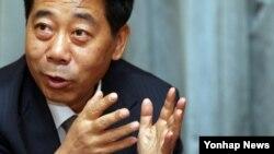 21일 서울에서 연합뉴스와 인터뷰하는 천바오성(陳寶生) 중국 공산당 중앙당교 부교장.