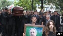 Похороны президента Абхазии Сергея Багапша. Сухуми. 2 июня 2011 года