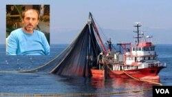 თურქული სეინერის კაპიტანი სელიმ კაია ოკუპირებულ აფხაზეთში უკანონო თევზჭერას ეწეოდა