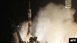 Запуск космического корабля «Союз»