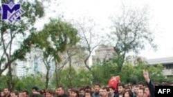Bakıda tələbələr PKK-nı lənətləyib