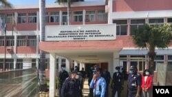 Policia em Benguela, Angola (Foto de Arquivo)