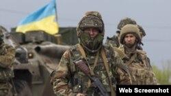 Ukraynada separatçılara qarşı döyüş