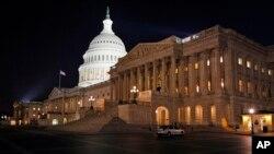 去年美国选举后共和党掌控参众两院(资料照)