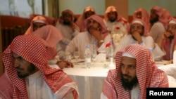 Polisi agama Saudi menghadiri pelatihan di Riyadh (foto: dok).