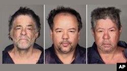 Ketiga bersaudara, dari kiri: Onil Castro, Ariel Castro, dan Pedro Casto dinyatakan sebagai tersangka penculikan 3 perempuan selama satu dekade di Cleveland, Ohio (foto: dok).