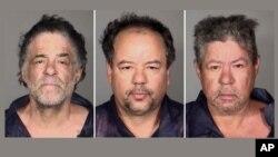 Tiga bersaudara Castro yang ditangkap terkait penculikan selama 10 tahun atas 3 perempuan, dari kiri: Onil Castro, Ariel Castro, dan Pedro Casto (foto: dok). Tim jaksa menuntut Ariel Castro dengan pasal penculikan dan perkosaan.
