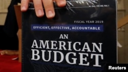 Copia de la propuesta de presupuesto para el año fiscal 2019 entregada el lunes a la Comisión de Presupuesto de la Cámara de Representantes.
