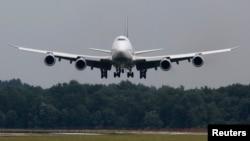 Boeing 747-8 təyyarəsi