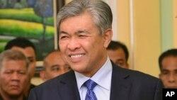 马来西亚副总理扎希德·哈米迪(Ahmad Zahid Hamidi)
