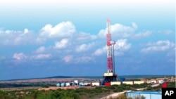 內蒙古鄂爾多斯烏審旗油氣天然氣田