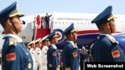 加拿大总理特鲁多2016年8月首次访华。 (特鲁多推特图片)