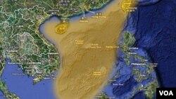 中国声称拥有南中国海主权 多个国家也声称拥有该海域全部和部分主权