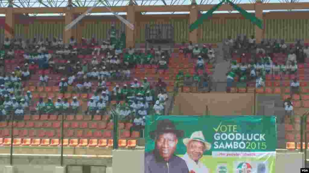 Shugaban Najeriya Goodluck Jonathan a Gombe, Fabrairu 2, 2015.