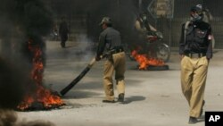 Pakistan perlu merombak angkatan kepolisiannya supaya lebih efektif melawan aksi kekerasan yang terus meningkat (foto: dok).