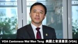 香港大學校長張翔。 (攝影:美國之音湯惠芸)