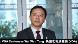 香港大學校長張翔 (攝影:美國之音湯惠芸)