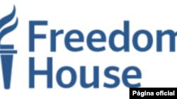 """民主倡導團體""""自由之家""""的標徽(Freedom House)。"""