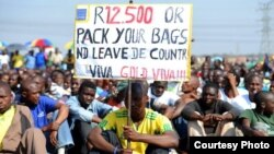 The Workers and Socialist Party demands the ANC government raise the minimum wage in South Africa to at least 12,500 rand. (Courtesy WASP)