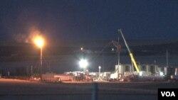 美國北達科他州的頁岩油開採技術令當地經濟蒸蒸日上。(視頻截圖)