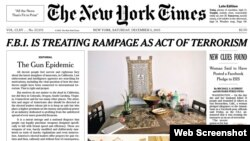 The New York Times published a front-page editorial calling for stricter gun control following a series of high-profile mass shootings that have rattled the nation and revived a longstanding disagreement over how to prevent gun violence.