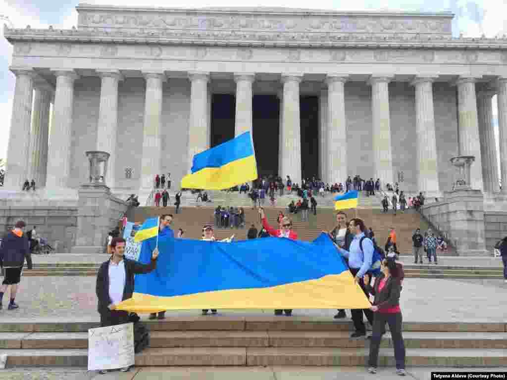 Меморіал Лінкольна. Вашингтон