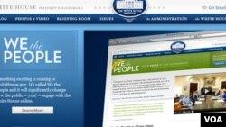 El gobierno de Obama busca con su nueva página en internet escuchar directamente de los ciudadanos las necesidades y quejas sobre el gobierno federal.